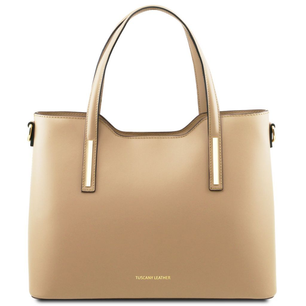 Olimpia Smooth Leather Tote (M)_29