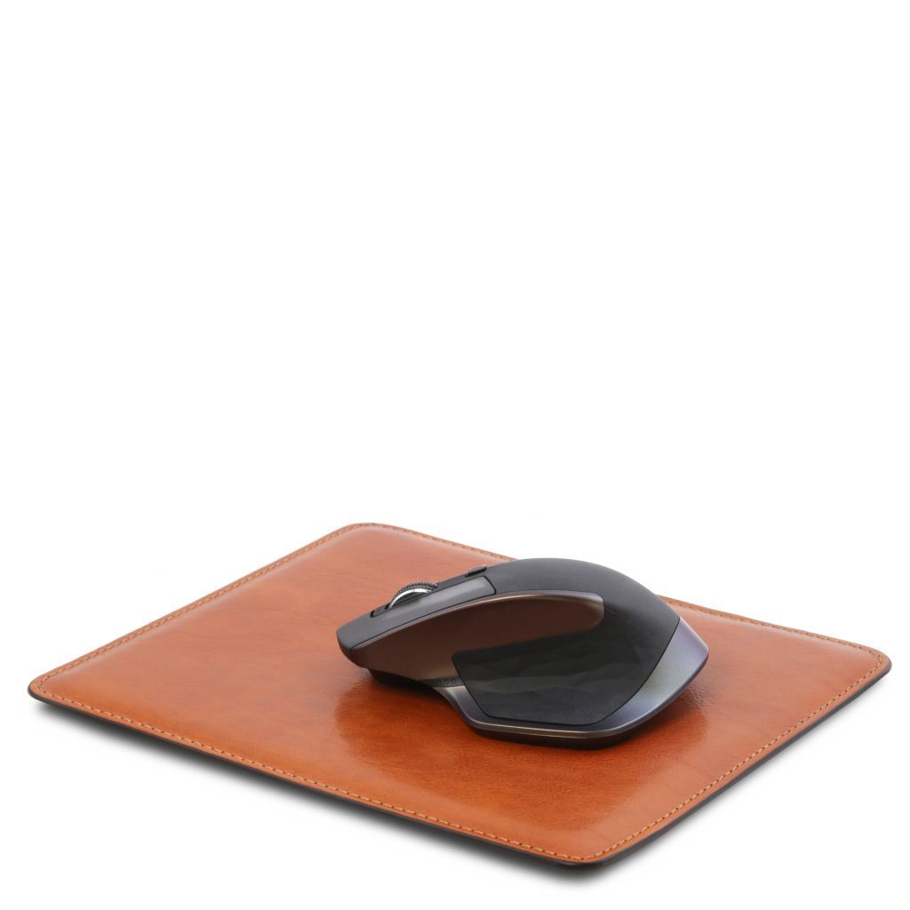 Vegetable Tanned Leather mouse pad_12