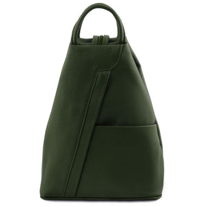 Shanghai Vegetable Tanned Leather Backpack_1