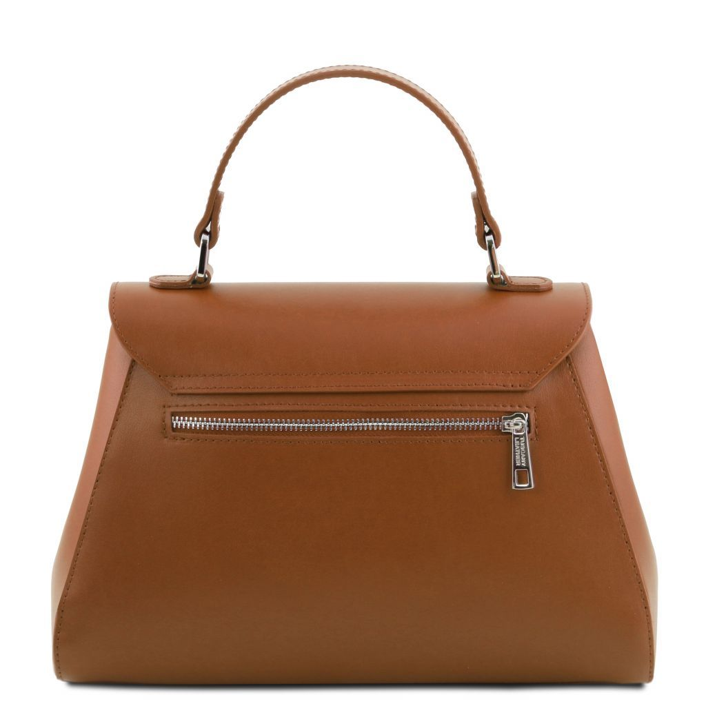 TL Smooth Leather Top Handle Bag_32
