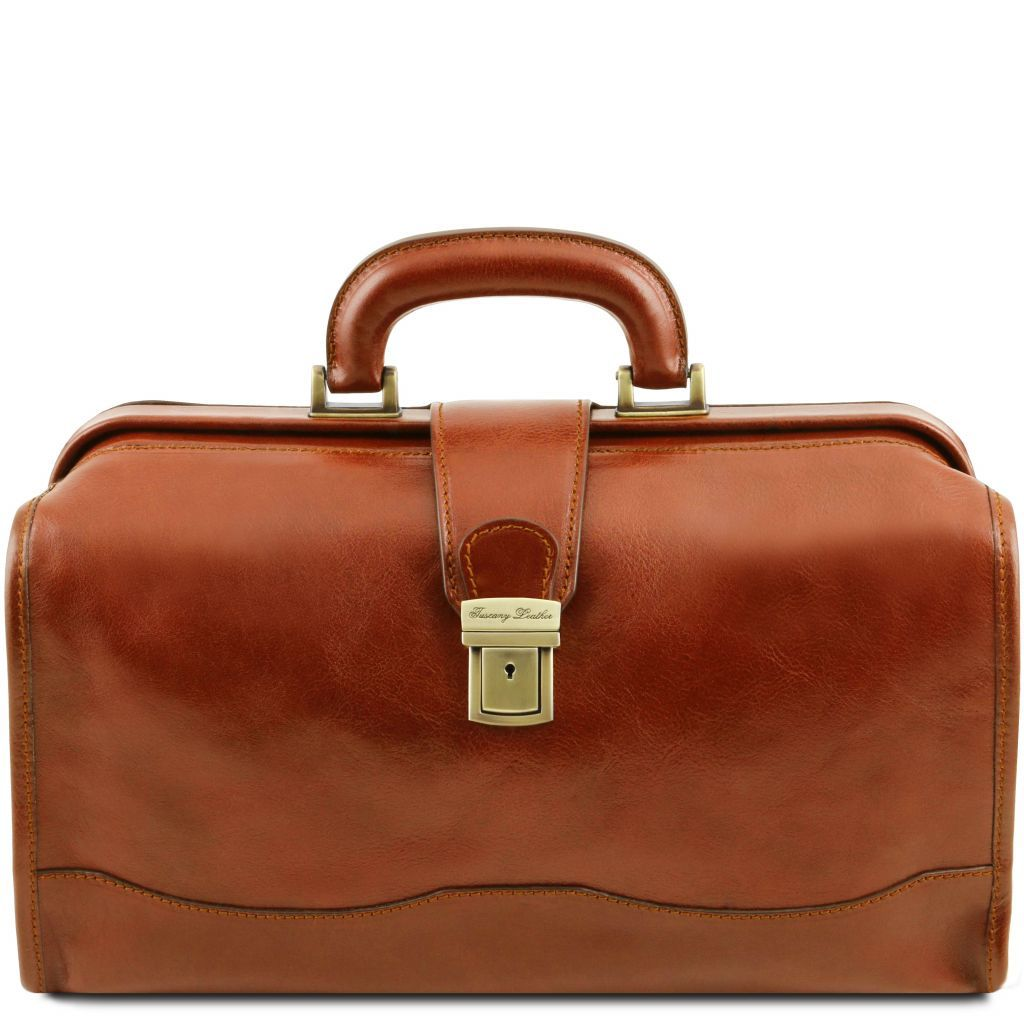 Raffaello Vegetable Tanned Leather Doctor bag_11