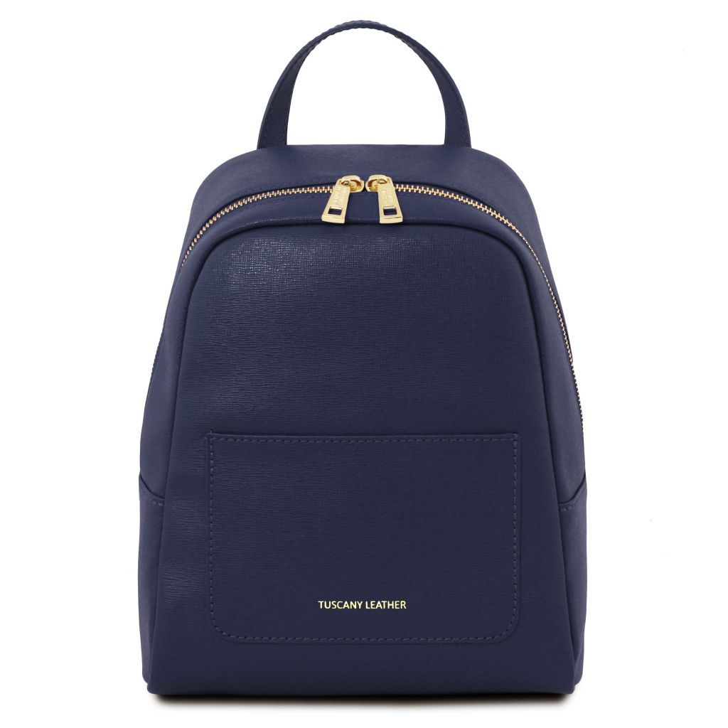 TL Small Saffiano Leather Backpack For Women_31