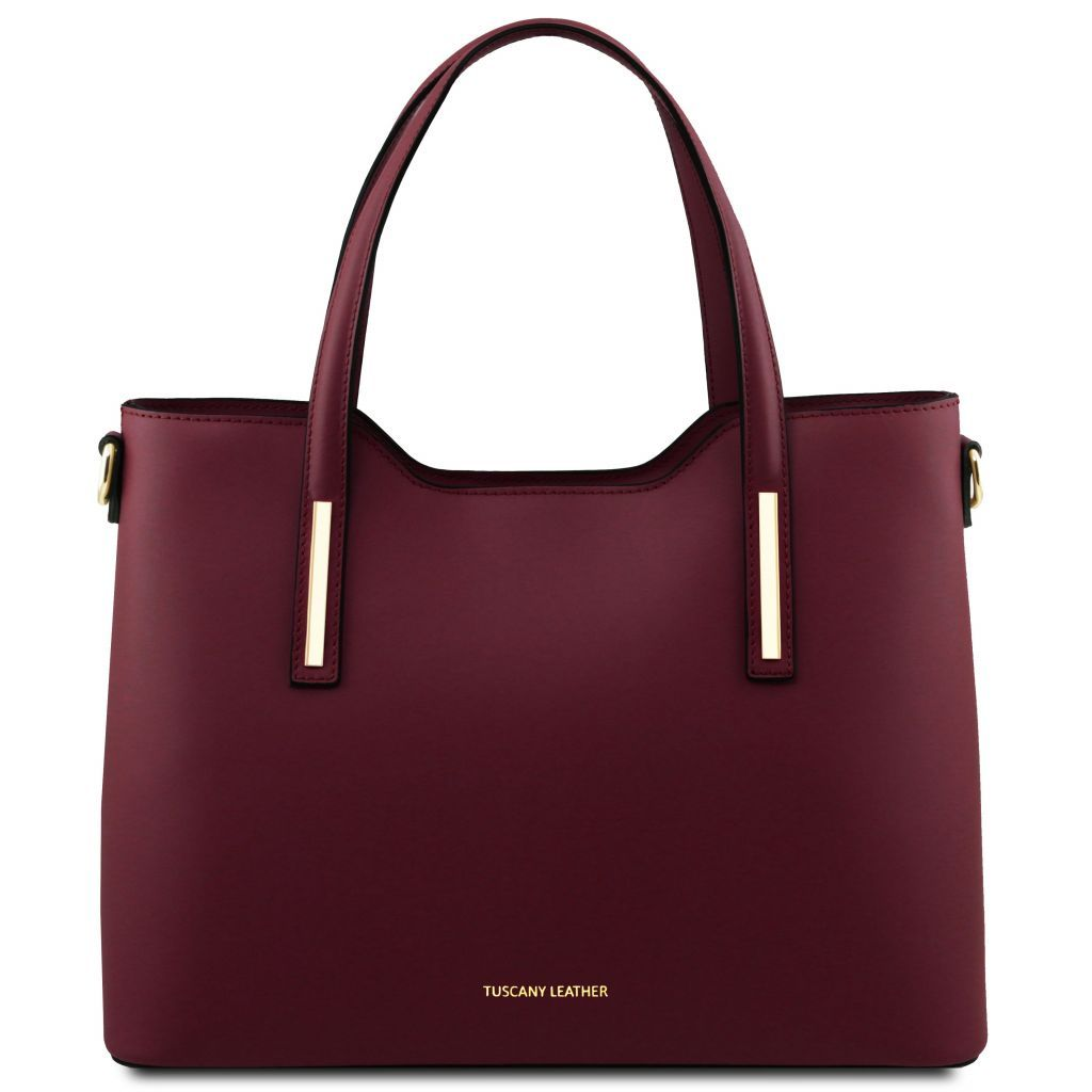 Olimpia Smooth Leather Tote (M)_1