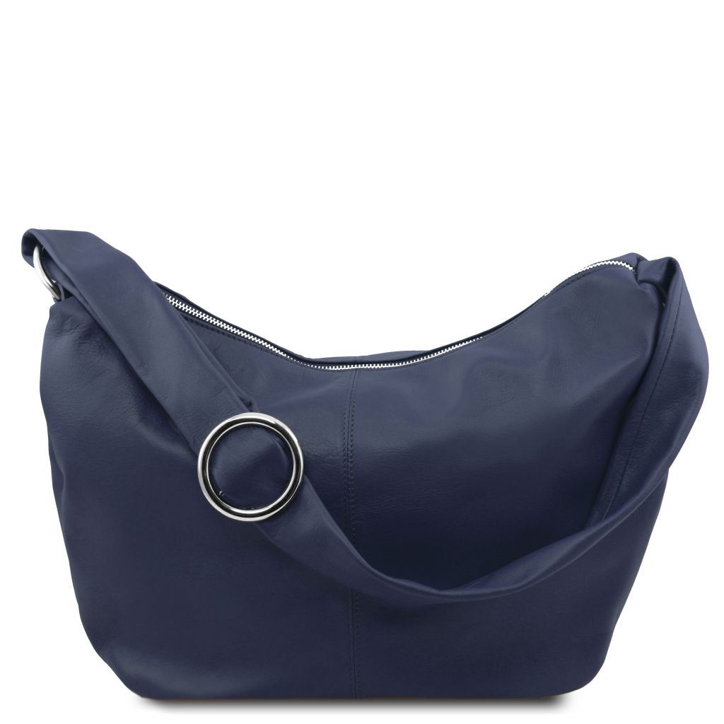 Yvette Soft leather Hobo Bag_14