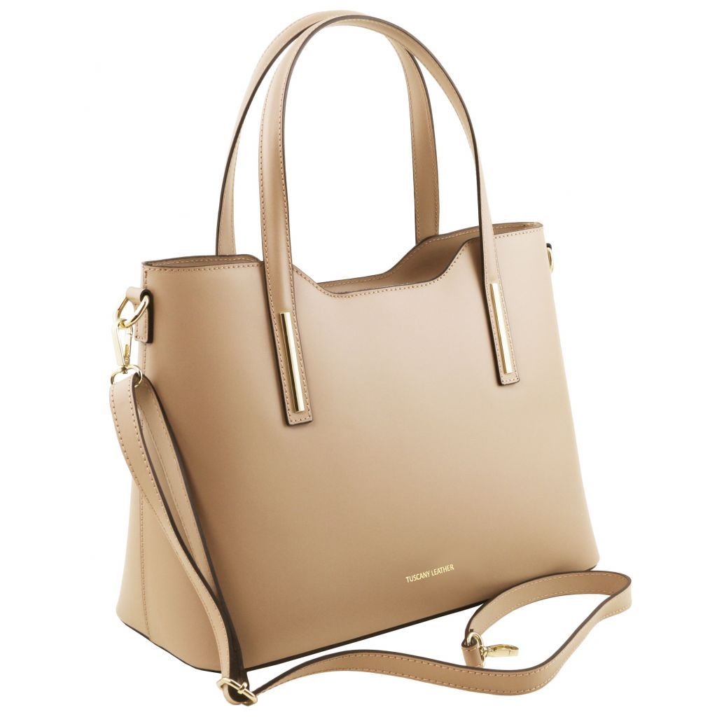 Olimpia Smooth Leather Tote (M)_30