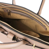 Elettra Smooth Leather Elagent Satchel_20
