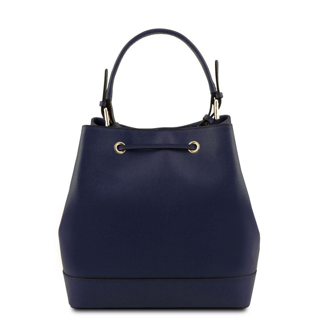 Minerva Saffiano Leather Bucket Bag_21