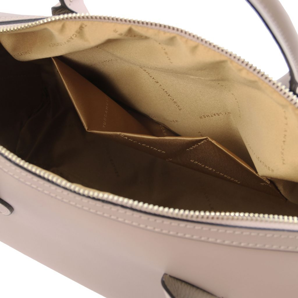 Elena Smooth Leather Boston Bag_22