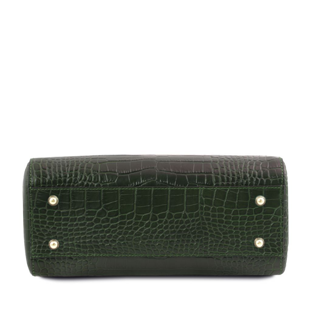 TL Croc-Embossed Top Handle Bag_18