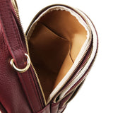 TL Hammered Leather Backpack For Women_29