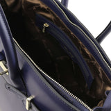 Elettra Smooth Leather Elagent Satchel_27