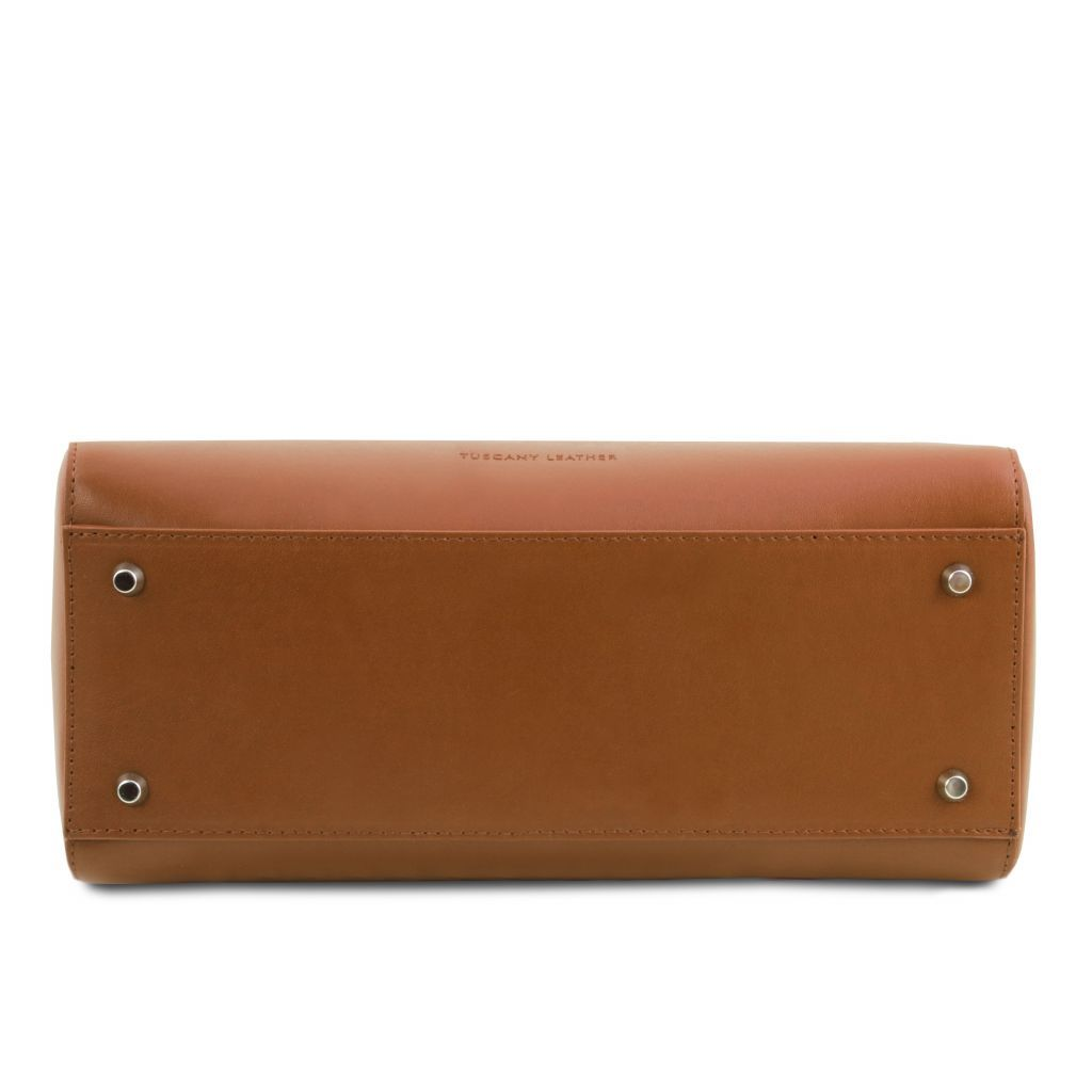 TL Smooth Leather Top Handle Bag_33