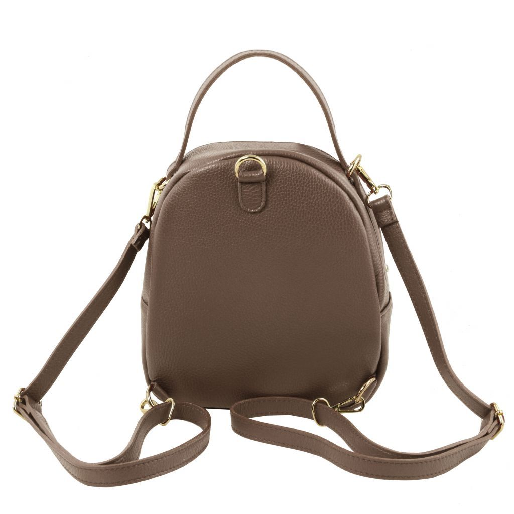 TL Hammered Leather Backpack For Women_21