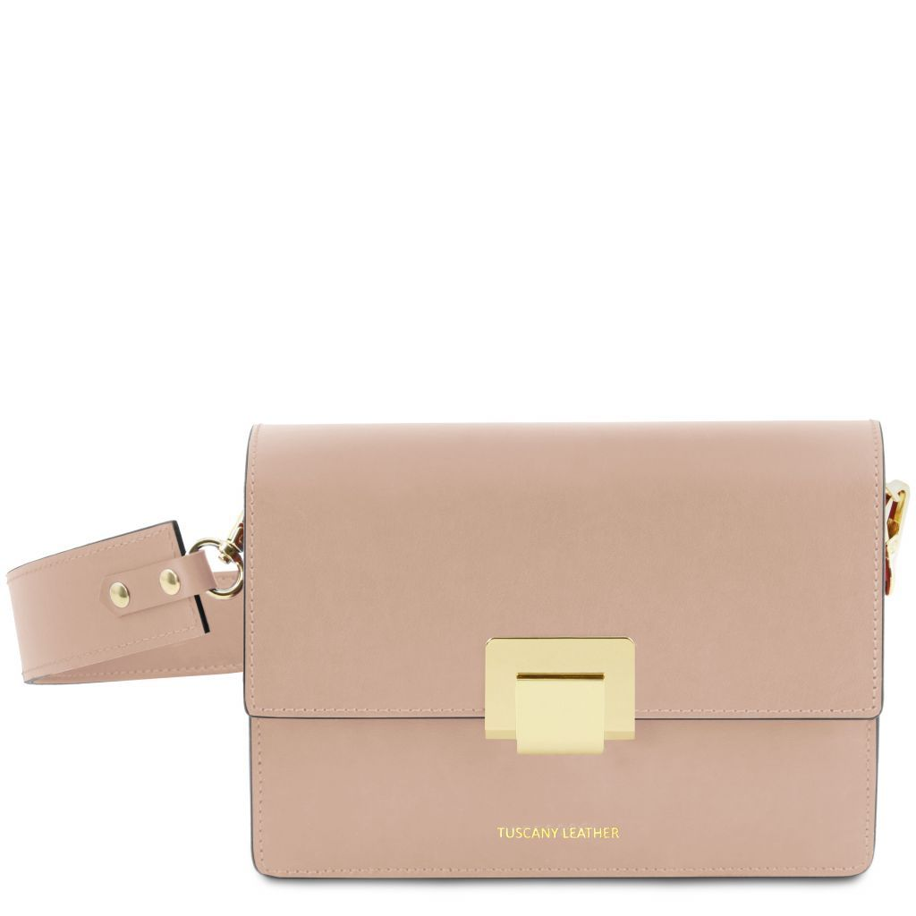 Adele Smooth Leather Clutch_24