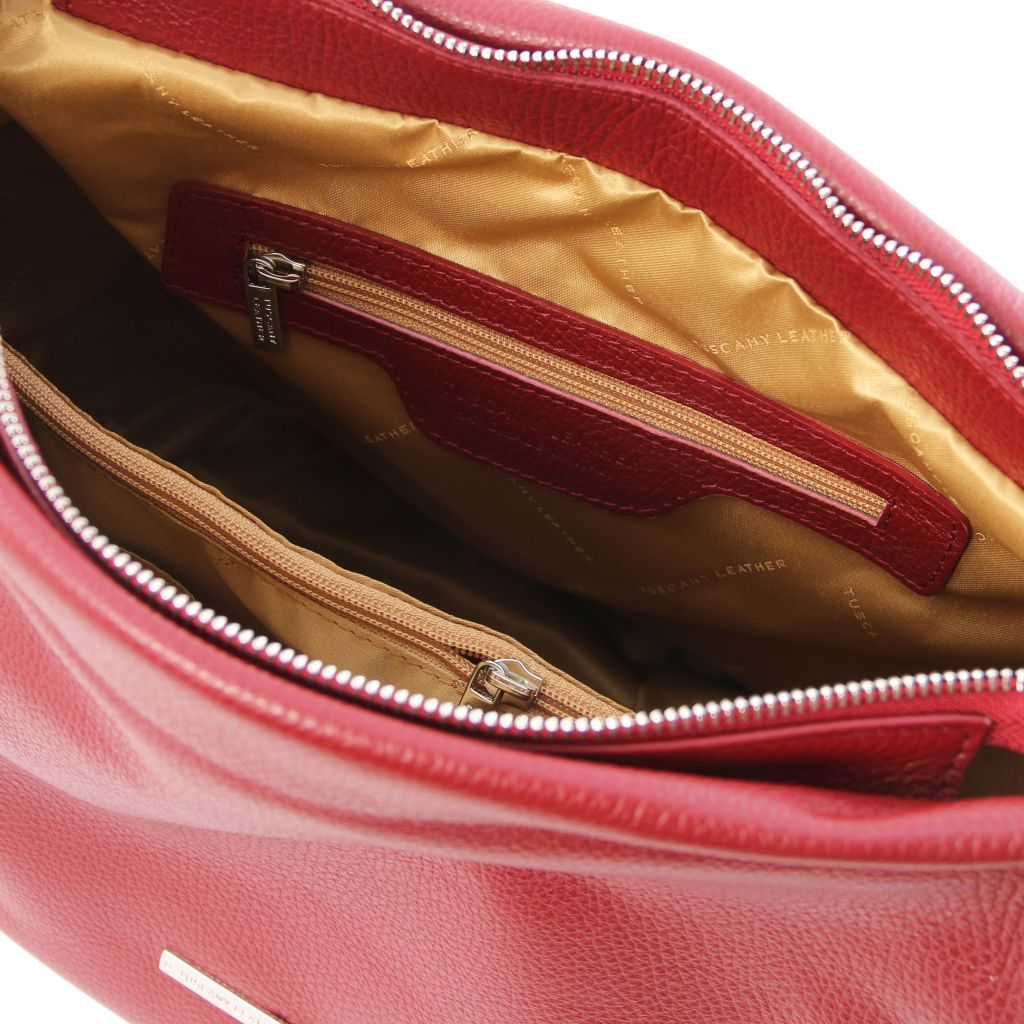 TL Embossed Leather Hobo Bag_21