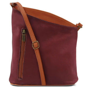 TL Mini Soft Leather Unisex Crossbody Bag_1