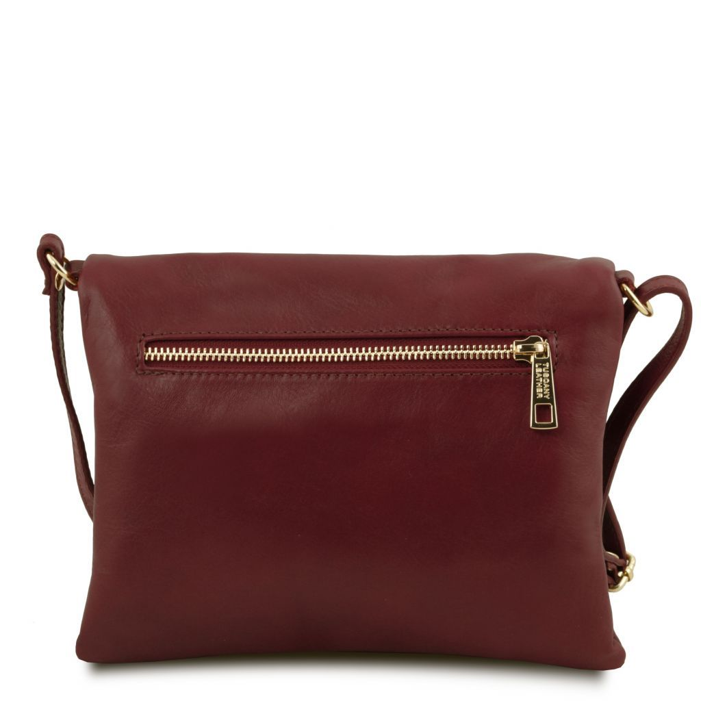 TL Young Soft Leather Shoulder Bag With Tassel_33