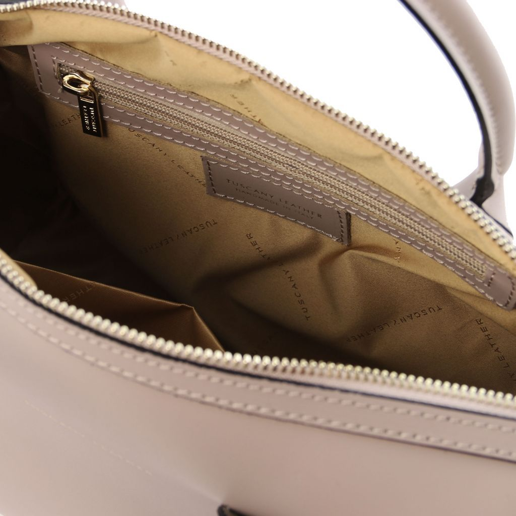 Elena Smooth Leather Boston Bag_23