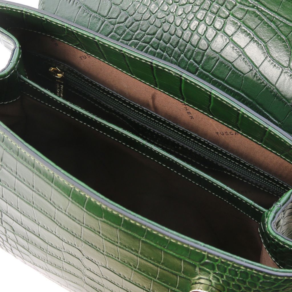 TL Croc-Embossed Top Handle Bag_20