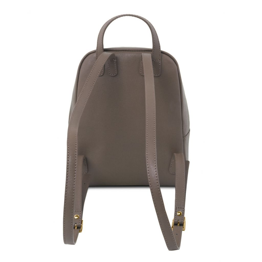 TL Small Saffiano Leather Backpack For Women_27