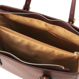 Aura Smooth Leather Satchel_40