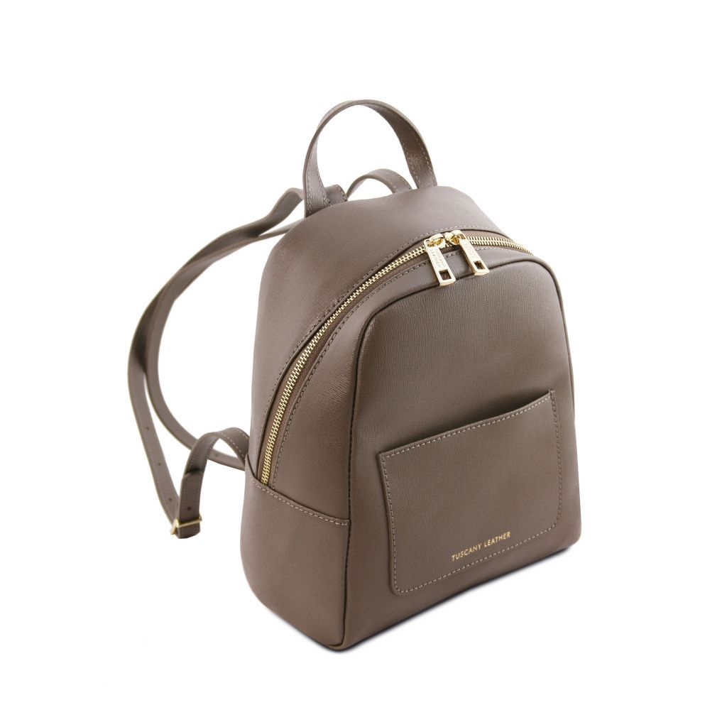 TL Small Saffiano Leather Backpack For Women_28