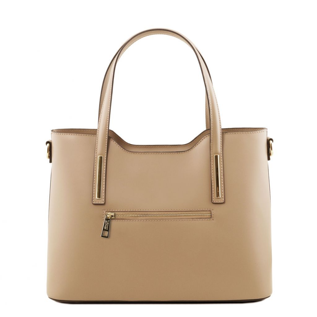 Olimpia Smooth Leather Tote (M)_31