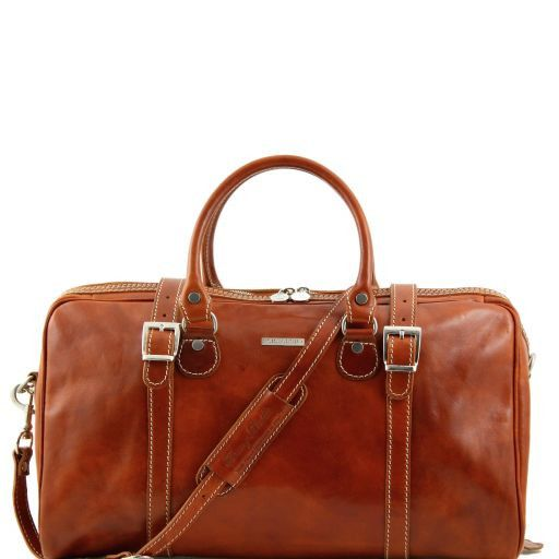 Berlin - Travel leather duffle bag - Small size_9