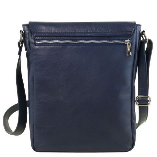 Cesare Soft Leather Messenger Bag_12