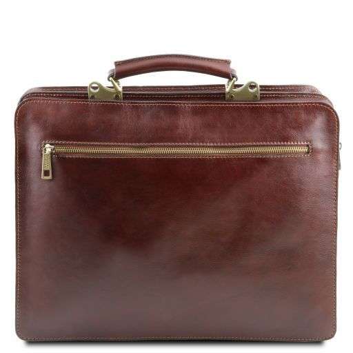 Venezia Vegetable Tanned Leather Briefcase_4