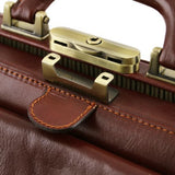 Giotto Vegetable Tanned Leather Doctor bag_6