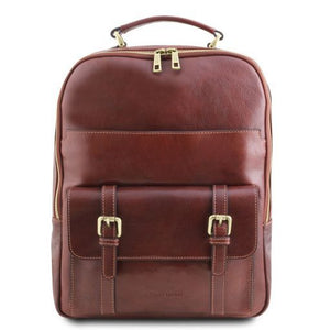Nagoya Vegetable Tanned Leather Laptop Backpack_1