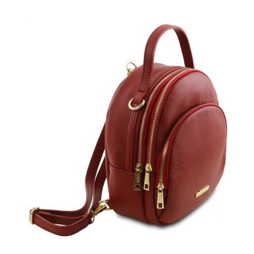 TL Hammered Leather Backpack For Women_9