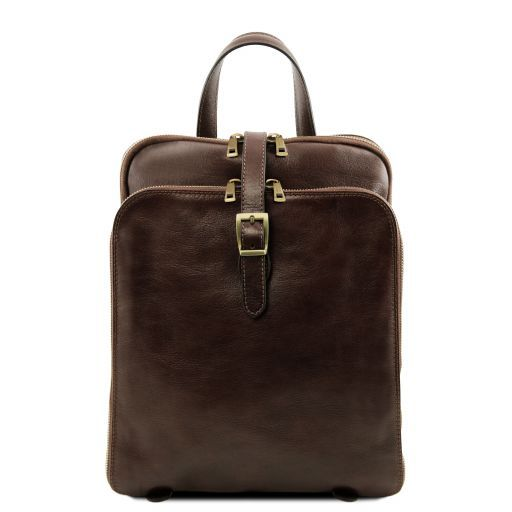 Taipei Vegetable Tanned Leather Backpack_11