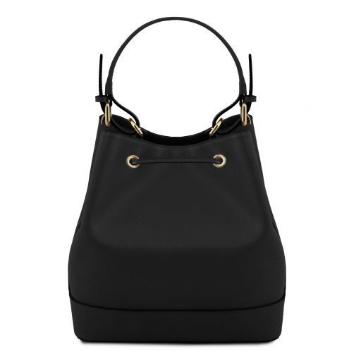 Minerva Saffiano Leather Bucket Bag_15