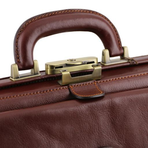 Leonardo Vegetable Tanned Leather Doctor bag_2