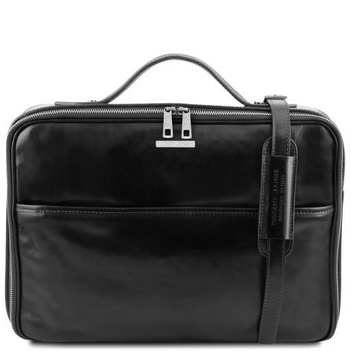 Vicenza Vegetable Tanned Leather Laptop Briefcase_10