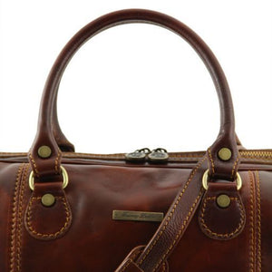Paris - Travel leather duffle bag_2