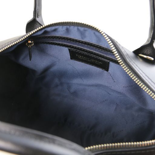 Elena Smooth Leather Boston Bag_11