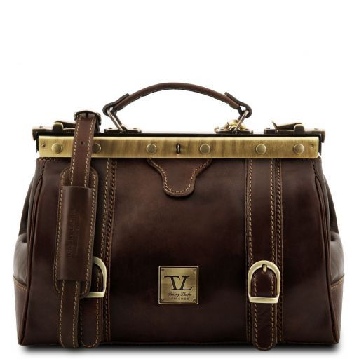 Monalisa Vegetable Tanned Leather Gladstone Doctor bag_9