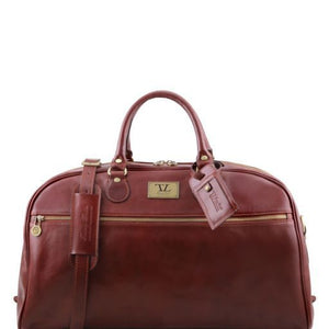 TL Voyager - Leather travel bag - Large size_1