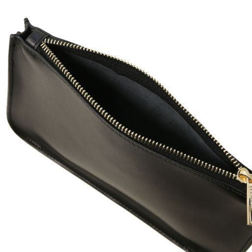 Cassandra Smooth Leather clutch handbag_7