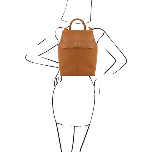 TL Soft Leather Backpack For Women_16
