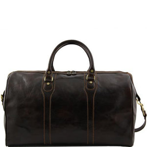 Oslo - Travel leather duffle bag - Weekender bag_2
