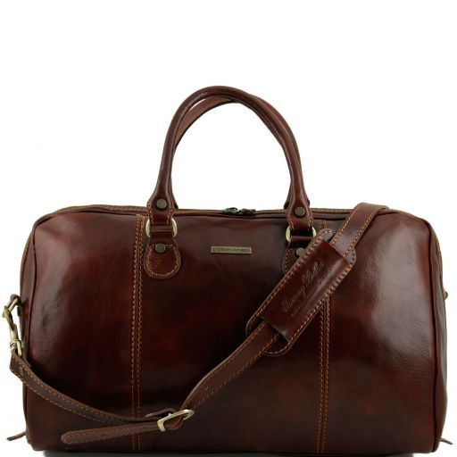 Paris - Travel leather duffle bag_6