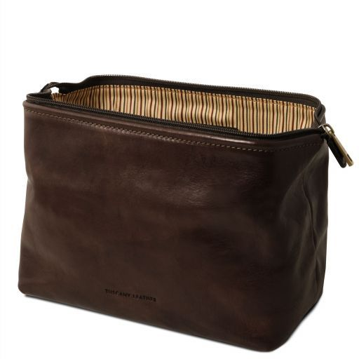 Smarty - Leather toilet bag - Large size_11