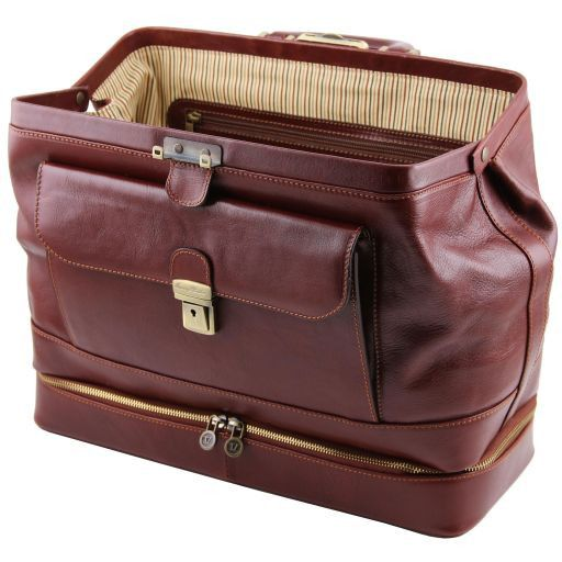 Giotto Vegetable Tanned Leather Doctor bag_5