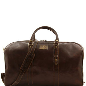 Francoforte - Exclusive Leather Weekender Travel Bag - Large size_1