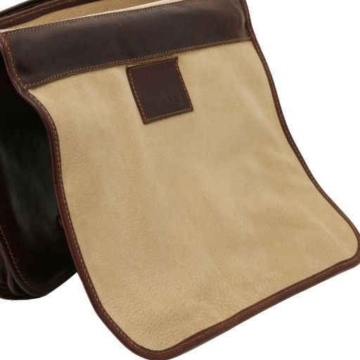 Capri Vegetable Tanned Leather Messenger Bag_5