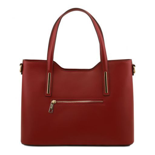 Olimpia Smooth Leather Tote (M)_17